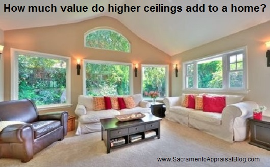 8 foot ceilings vs 9 for How much is a bedroom worth in an appraisal
